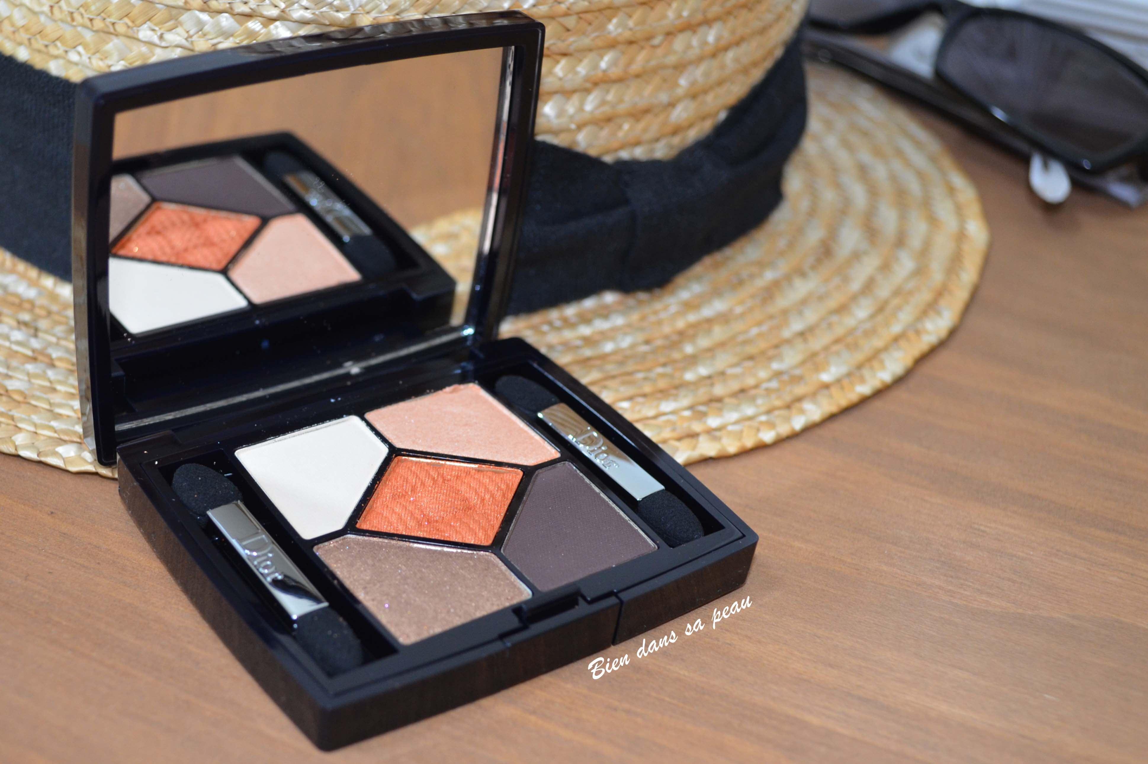 maquillage avec la palette transat edition de dior sundeck bien dans sa peau. Black Bedroom Furniture Sets. Home Design Ideas