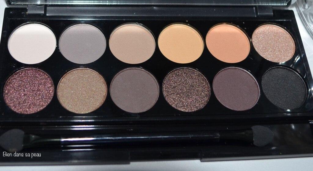 Une Palette Sleek Makeup Au Naturel Deux Maquillages Et Un Concours