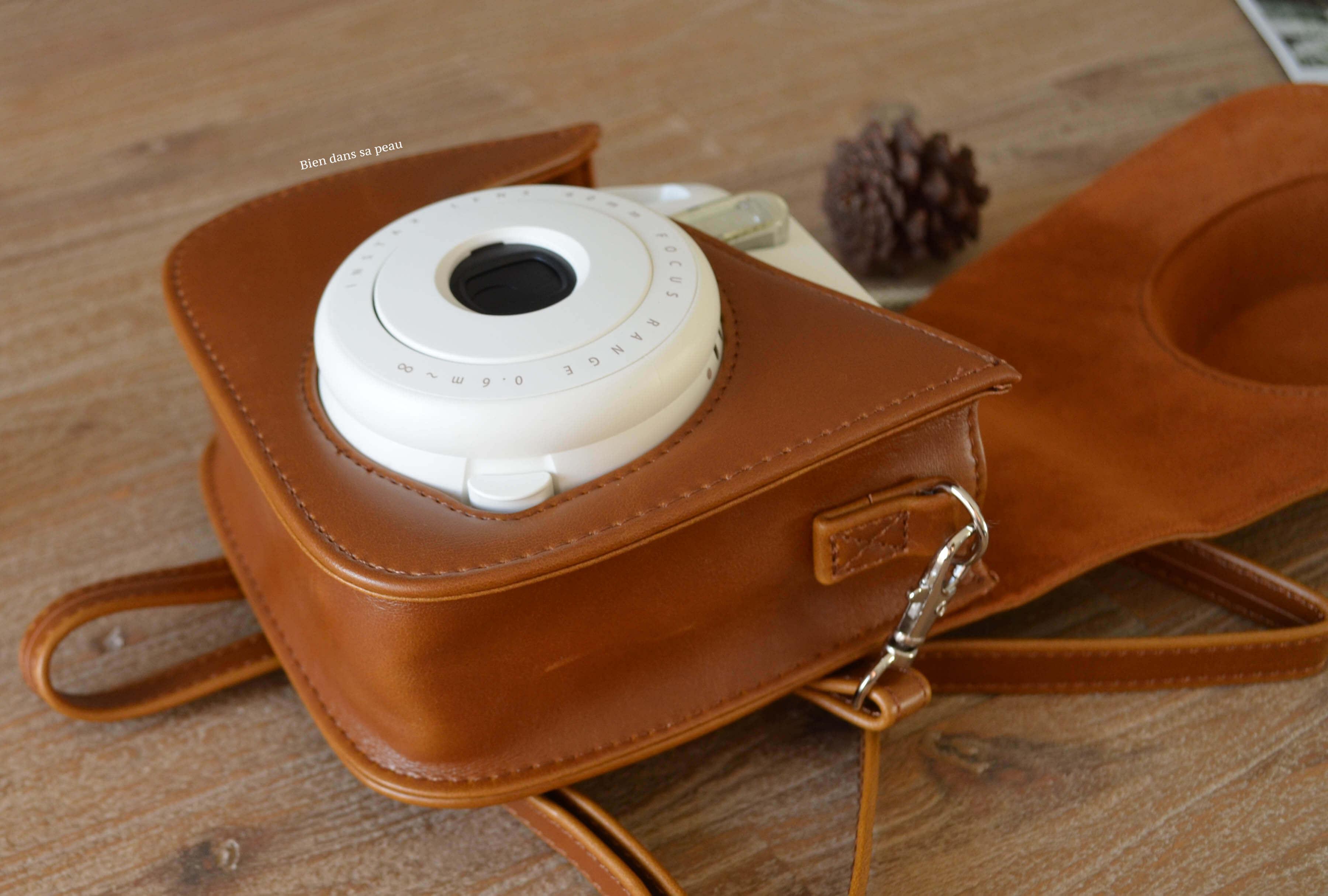 look 5 instax mini 8 fujifilm housse cuir. Black Bedroom Furniture Sets. Home Design Ideas
